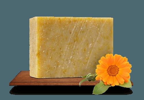 Örömmel – körömvirágos kecsketejes szappan