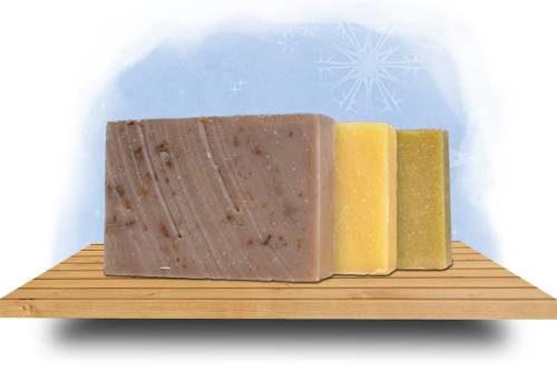Téli kecsketejes szappan akciós csomag